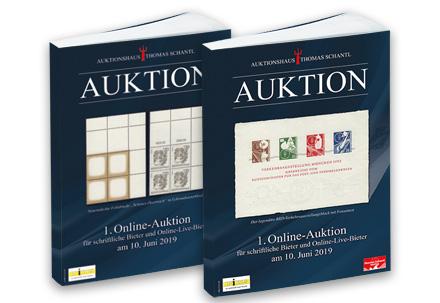 Briefmarken Auktionskatalog